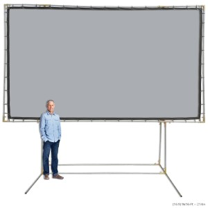 Carl's FlexiGray DIY Standing Projection Screen