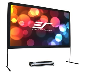 Elite Screens 150-inch Yard Master Outdoor Theater Portable Projection Screen