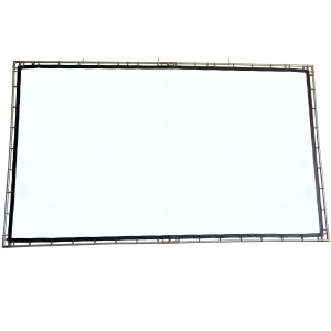 FlexiWhite DIY Hanging Indoor-Outdoor Projection Screen Kit