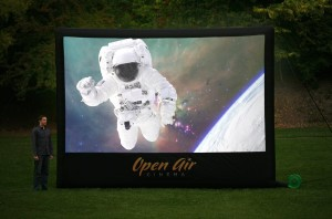 Open Aiir Cinema 16 ft. Outdoor Home Projector Screen Widescreen