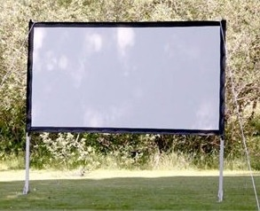 Visual Apex ProjectoScreen 120HD Portable Movie Theater Projection Screen